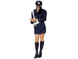 Αποκριάτικη στολή γυναίκα Τροχονόμος