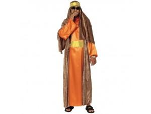 Αποκριάτικη στολή Άραβας Πορτοκαλί