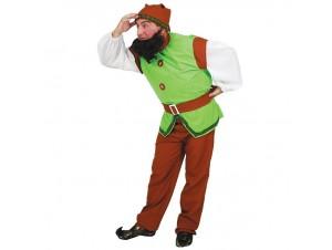 Αποκριάτικη στολή Νάνος Πράσινος