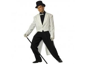 Αποκριάτικη στολή Σμόκιν Λευκό