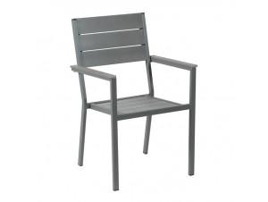 4635 Πολυθρόνα Γαλβανιζέ -Polywood