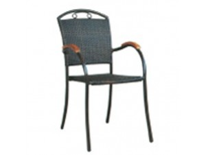 Πολυθρόνα αλουμινίου Wicker SHOGUN