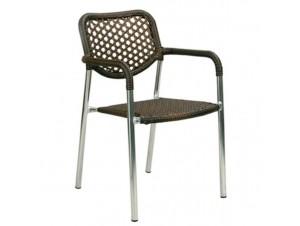 Πολυθρόνα αλουμινίου Wicker CAIRO