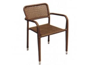 Πολυθρόνα αλουμινίου Wicker SINGAPORE