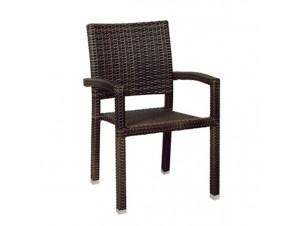 Πολυθρόνα αλουμινίου Wicker DION