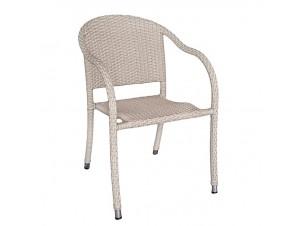 Πολυθρόνα αλουμινίου Wicker CARDIFF