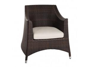 Πολυθρόνα αλουμινίου Wicker ISOLA