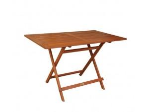 Τραπέζι Κήπου Βεράντας ξύλινο Πτυσσόμενο