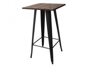 Τραπέζι BAR Μεταλλικό RELIX WOOD