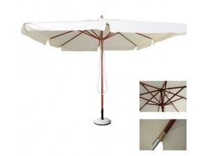 Ομπρέλα Ξύλινη Στρογγυλή SOLEIL