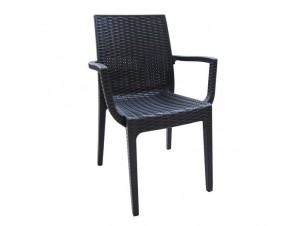Πολυθρόνα κήπου Πλαστική DAFNE