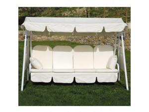 Κούνια-Κρεβάτι κήπου Γαλλίδα (σκελετός Φ48 mm)