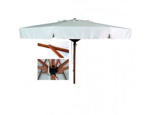 Ομπρέλα Ξύλινη 3,2 μέτρων