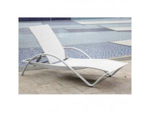 Ξαπλώστρα Λευκή PVC 37279