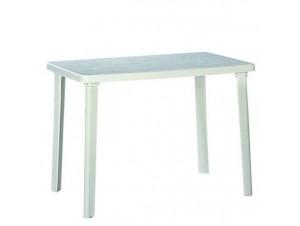 Τραπέζι κήπου Πλαστικό Λευκό Ιφιγένεια