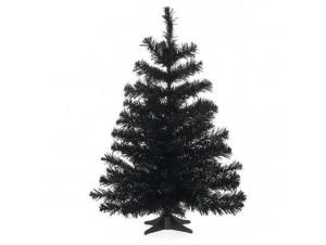 Μαύρο χριστουγεννιάτικο Δέντρο 60 εκατ