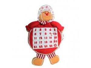 Χριστουγεννιάτικο Λούτρινο Ημερολόγιο Gingerbread