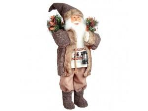 Διακοσμητικός Άγιος Βασίλης με σάκο