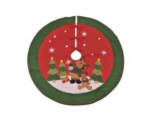 Χριστουγεννιάτικη ποδιά δέντρου 107 εκ.