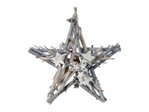 Χριστουγεννιάτικο οικολογικό διακοσμητικό αστέρι