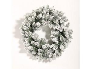 Χριστουγεννιάτικο στεφάνι Χιονισμένο