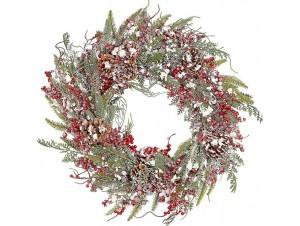 Χριστουγεννιάτικο στεφάνι 56 εκ