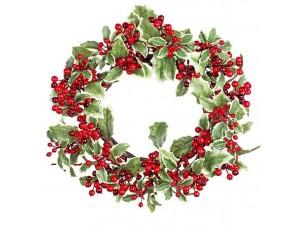 Χριστουγεννιάτικο στεφάνι 40 εκ