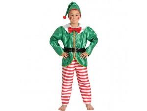 Χριστουγεννικάτικη Στολή Ξωτικό Αγόρι