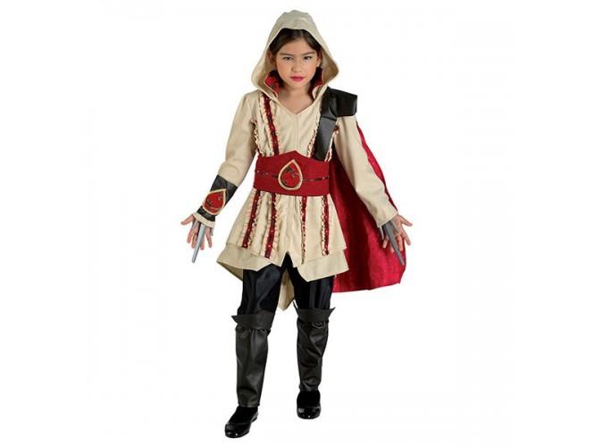 Αποκριάτικη στολή Assassin Red Girl