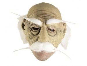 Latex μάσκα Γέρου 3/4 με μαλλιά