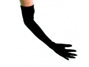 Αποκριάτικα γάντια μακριά μαύρα