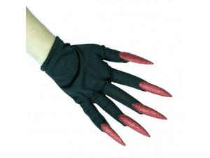 Αποκριάτικα Αξεσουάρ Γάντια με νύχια