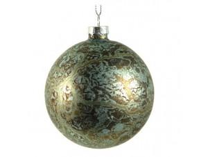 Χριστουγεννιάτικη Γυάλινη Μπάλα 8 εκ.