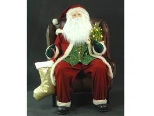 Χριστουγεννιάτικος φουσκωτός Αγ.Βασίλης 120 εκ