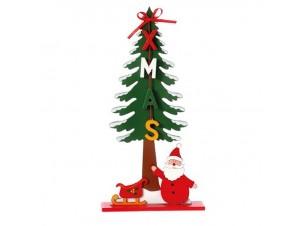 Χριστουγεννιάτικο Διακοσμητικό Δεντράκι 25 εκ