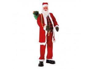Διακοσμητικό Βιτρίνας Άγιος Βασίλης Κόκκινος 200 εκ