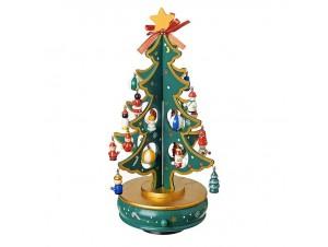 Χριστουγεννιάτικο ξύλινο δέντρο 28 εκ