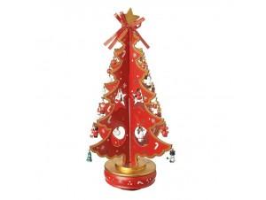 Χριστουγεννιάτικο ξύλινο δέντρο 38 εκ