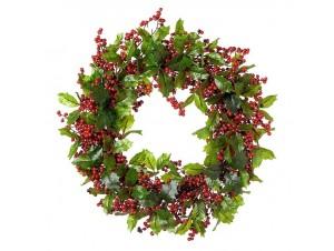 Χριστουγεννιάτικο στεφάνι 50 εκ