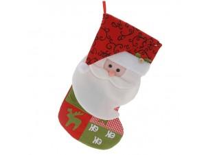 Χριστουγεννιάτικη κάλτσα 45 εκ. Άγιος Βασίλης