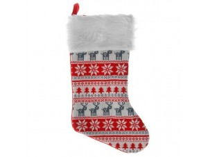 Χριστουγεννιάτικη κάλτσα 45 εκ.