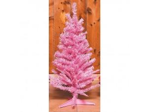 Ροζ Χριστουγεννιάτικο Δέντρο 80 εκ.
