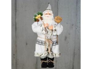 Αγιος Βασίλης με σάκο και σκι 80 εκ