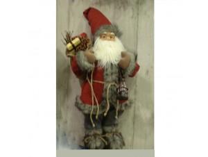 Χριστουγεννιάτικος Λούτρινος Άγιος Βασίλης 80 εκ