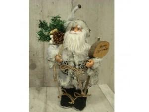 Χριστουγεννιάτικος Λούτρινος Άγιος Βασίλης 30 εκ