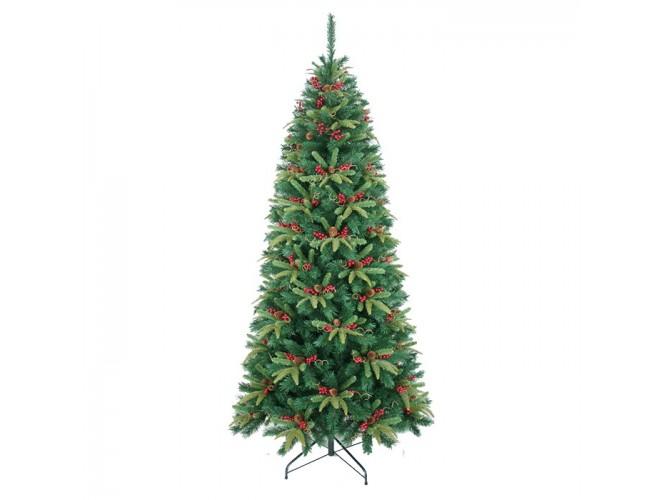 Χριστουγεννιάτικο Δέντρο FORBES SLIM FIR 2.10 m