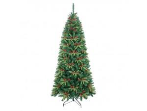 Χριστουγεννιάτικο Δέντρο FORBES SLIM FIR 2.40 m