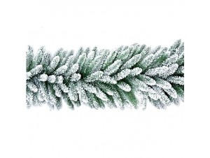 Γιρλάντα χιονισμένο έλατο 270