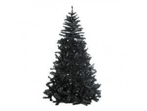 Μαύρο Χριστουγεννιάτικο Δέντρο 180 εκατ.