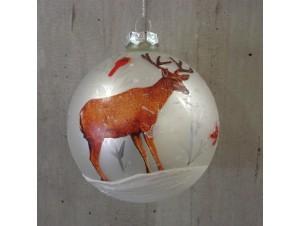 Παιδική Χριστουγεννιάτικη μπάλα με Τάρανδο